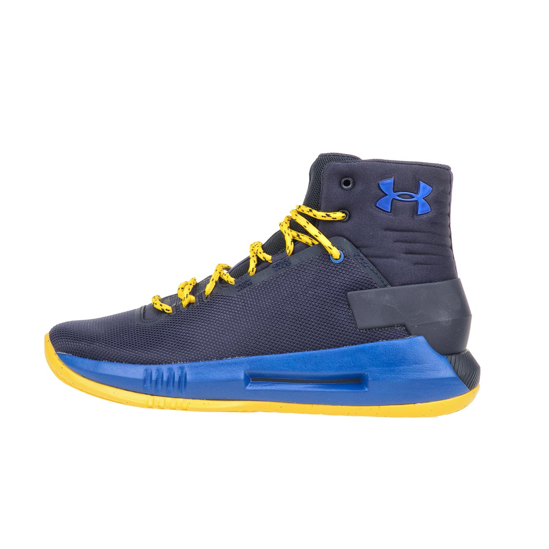 UNDER ARMOUR - Αγορίστικα παπούτσια μπάσκετ UNDER ARMOUR BGS DRIVE 4 μπλε παιδικά boys παπούτσια αθλητικά