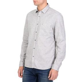 e5e9034f4676 CALVIN KLEIN JEANS. Ανδρικό μακρυμάνικο πουκάμισο CALVIN KLEIN JEANS GALEN  HEATHER γκρι