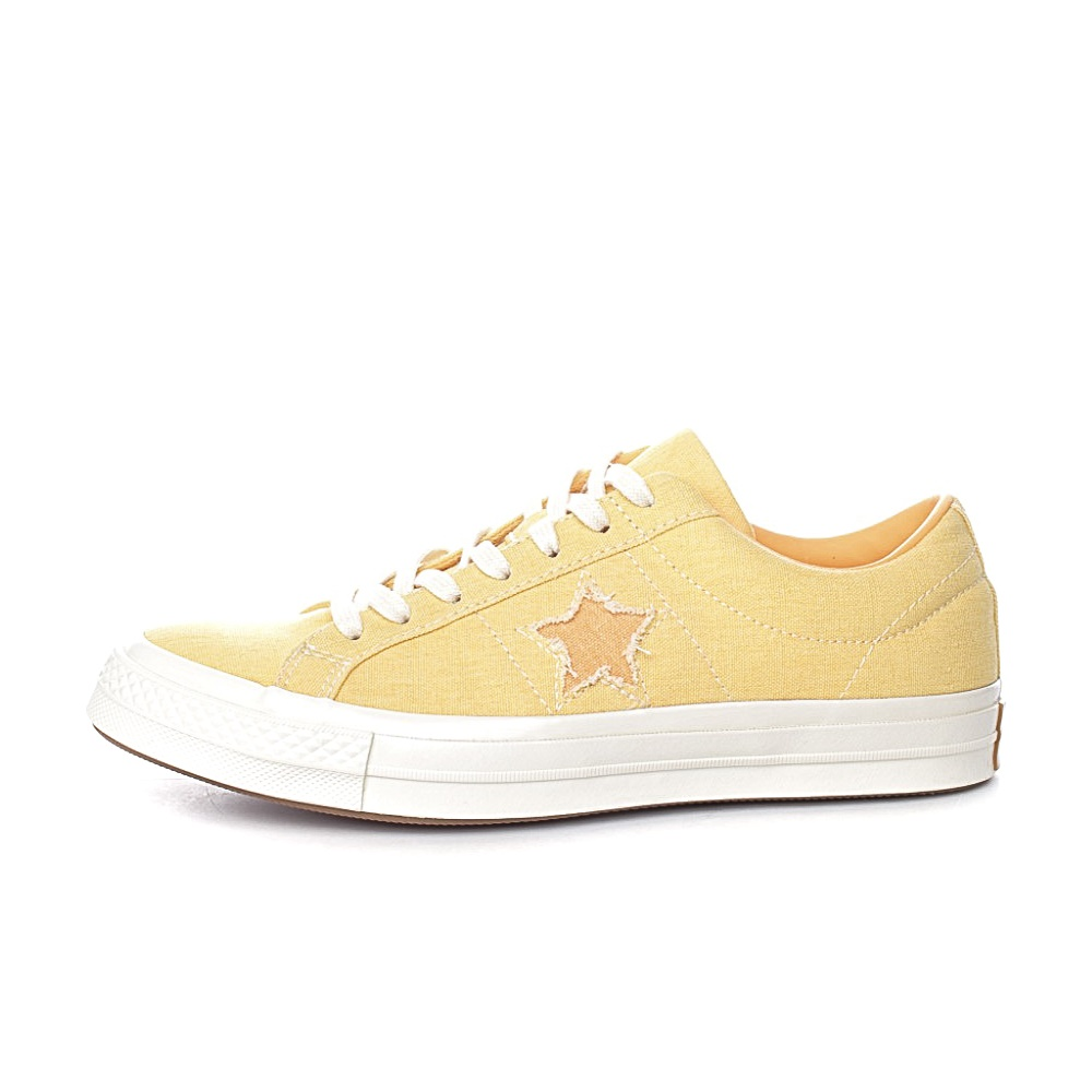 CONVERSE – Unisex sneakers CONVERSE One Star κίτρινα