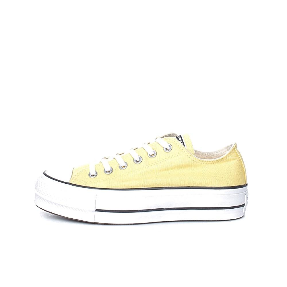 CONVERSE – Γυναικεία sneakers CONVERSE Chuck Taylor All Star Lift κίτρινα