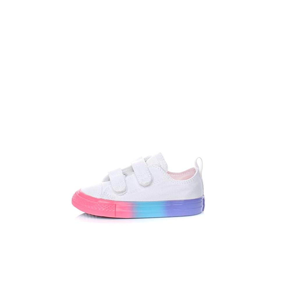CONVERSE – Βρεφικά παπούτσια Converse Chuck Taylor All Star 2V λευκά
