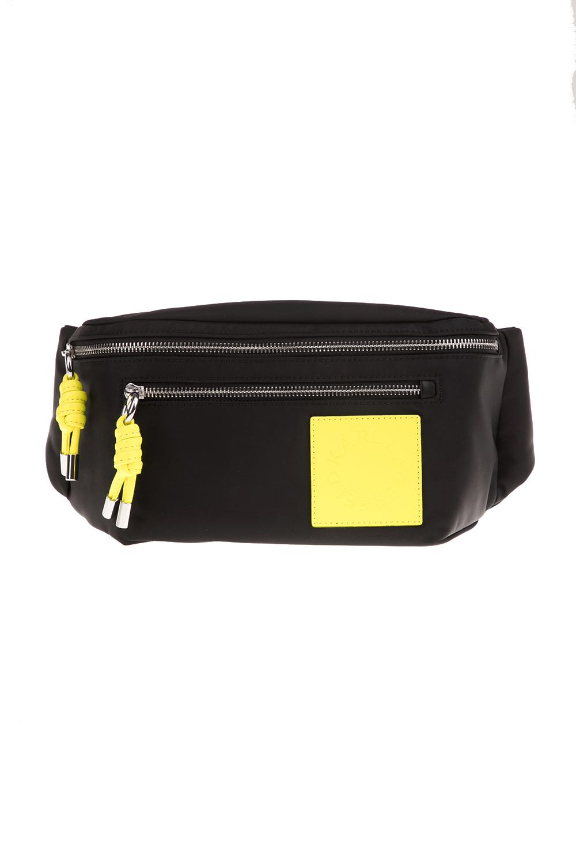 KARL LAGERFELD - Γυναικεία τσάντα μέσης KARL LAGERFELD K/Neon Bumbag μαύρη - KARL LAGERFELD -