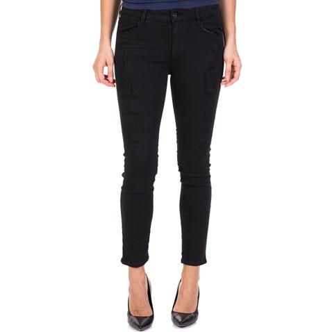 Γυναικείο τζιν παντελόνι Sally 16017 DEVERGO JEANS μαύρο (1711603.1-o008)  f397407a4b3