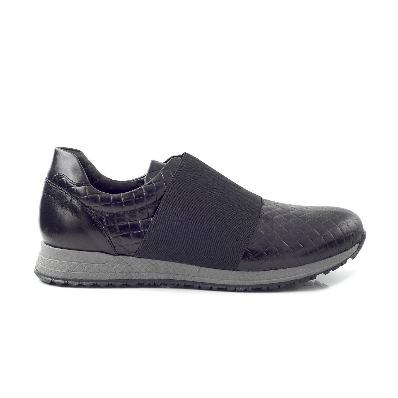 CHANIOTAKIS – Ανδρικά sneakers CHANIOTAKIS ADRIANO μαύρα