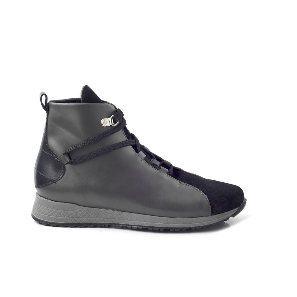 CHANIOTAKIS – Γυναικεία sneakers μποτάκια CHANIOTAKIS SPORT SOFTY μαύρα dd7e20d773d