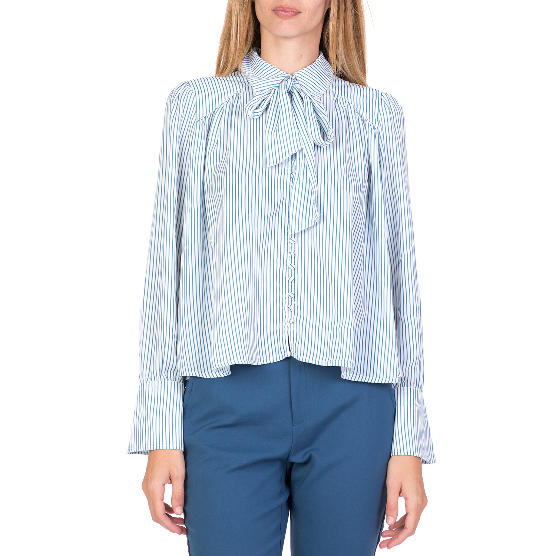 6a4c4ba88efb FUNKY BUDDHA – Γυναικείο μακρυμάνικο πουκάμισο FUNKY BUDDHA ριγέ