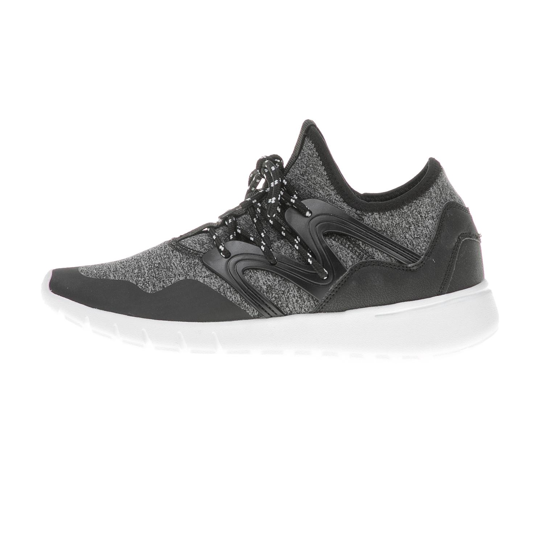 FUNKY BUDDHA – Ανδρικά sneakers FUNKY BUDDHA μαύρα – γκρι
