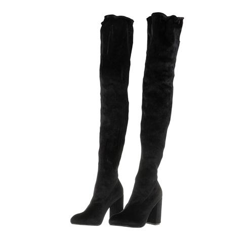 07407802fe2 Γυναικείες μπότες πάνω από το γόνατο FUNKY BUDDHA μαύρες (1712155.0 ...