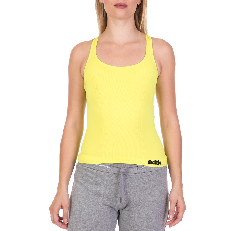 19b1403f223c BODYTALK – Γυναικεία αμάβικη μπλούζα SEAMLESSW ACTIVE TANK κίτρινη.  Κατάστημα  Factory Outlet