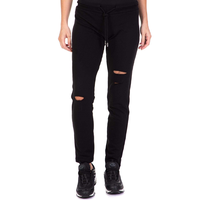 c8b30d5b574 BODYTALK - Γυναικείο παντελόνι φόρμας PERFECTMATCHW SKINNY μαύρο