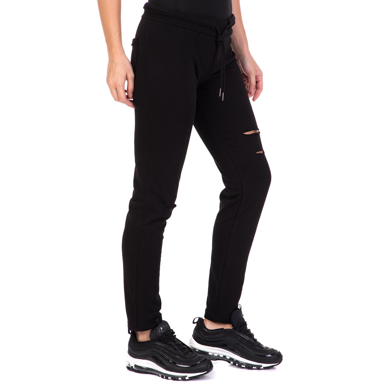 b86264f76aa BODYTALK - Γυναικείο παντελόνι φόρμας PERFECTMATCHW SKINNY μαύρο ...