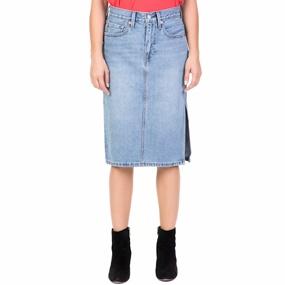 519d00692e7d LEVI S. Γυναικεία τζιν midi φούστα ...