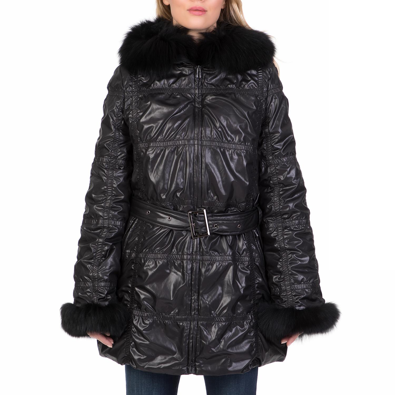 ARMA MAYS   ROSE – Γυναικείο φουσκωτό μπουφάν ARMA MAYS   ROSE μαύρο 407f5bc54e1