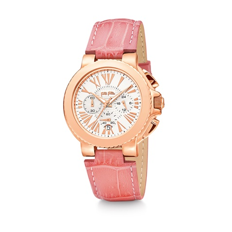 c84811a4c8 Γυναικείο δερμάτινο ρολόι FOLLI FOLLIE WATCHALICIOUS ροζ (1714691.0-00p1)