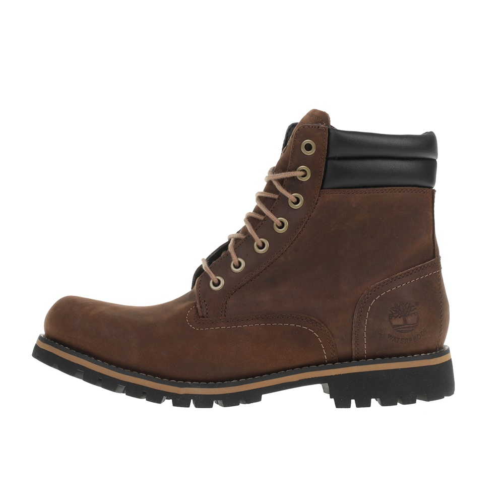 TIMBERLAND – Ανδρικά αδιάβροχα μποτάκια TIMBERLAND FORAKER 6 IN καφέ