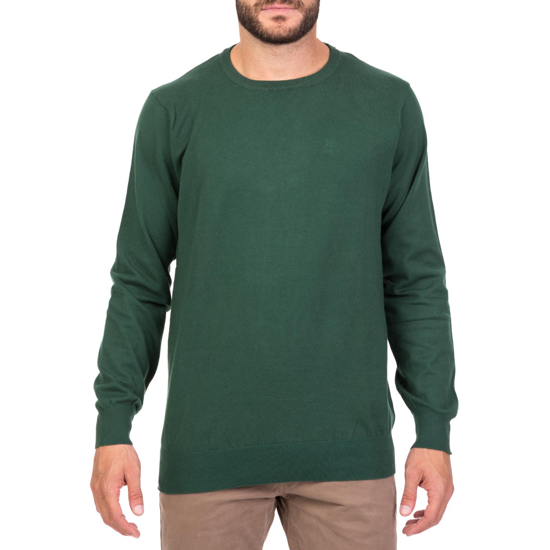 2e83899cd24c ... GREENWOOD - Ανδρικό πουλόβερ GREENWOOD πράσινο 1715725.0-0061