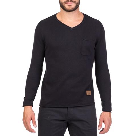 d3adf4e9a07e Ανδρικό πουλόβερ με V BATTERY μαύρο (1715732.0-0071)