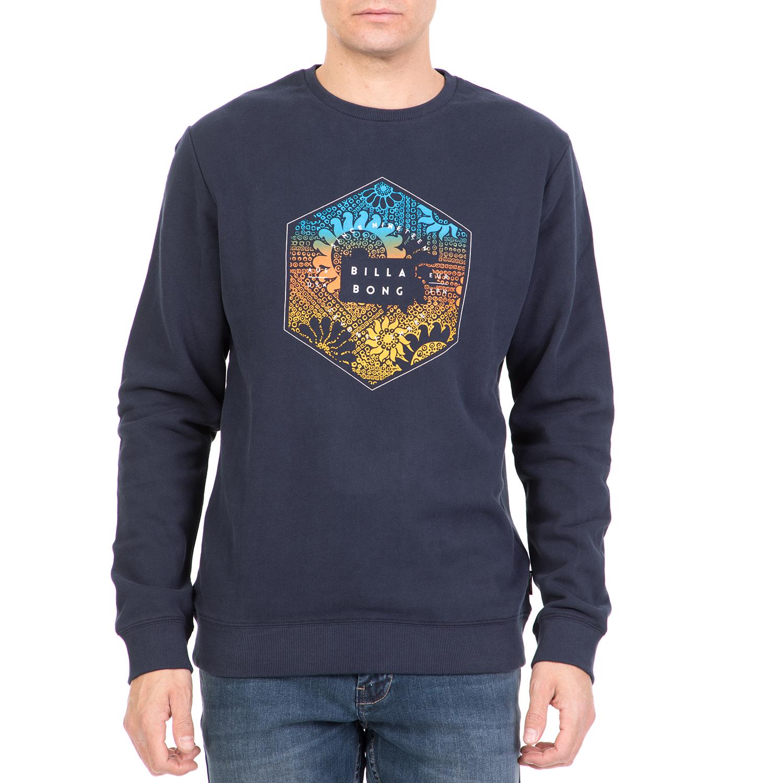 a58ec28c66d2 BILLABONG - Ανδρική φούτερ μπλούζα BILLABONG ACCESS μπλε