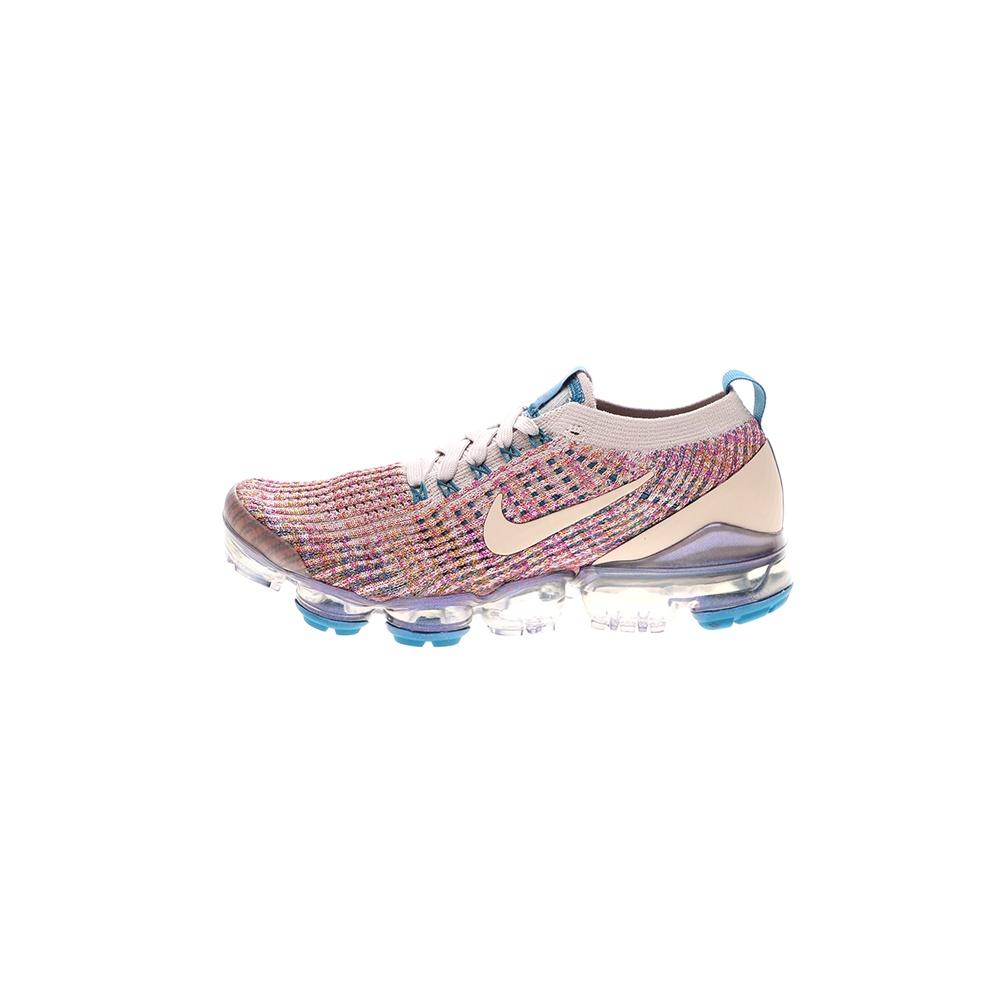 NIKE – Γυναικεία παπούτσια running NIKE AIR VAPORMAX FLYKNIT 3 εκρού ροζ
