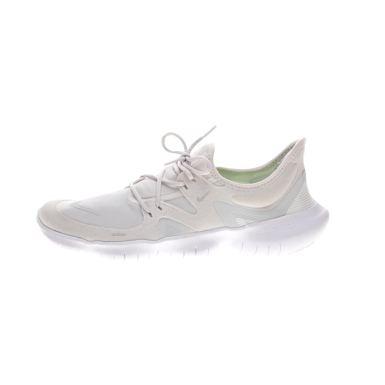 NIKE – Ανδρικά αθλητικά παπούτσια NIKE FREE RN 5.0 λευκά