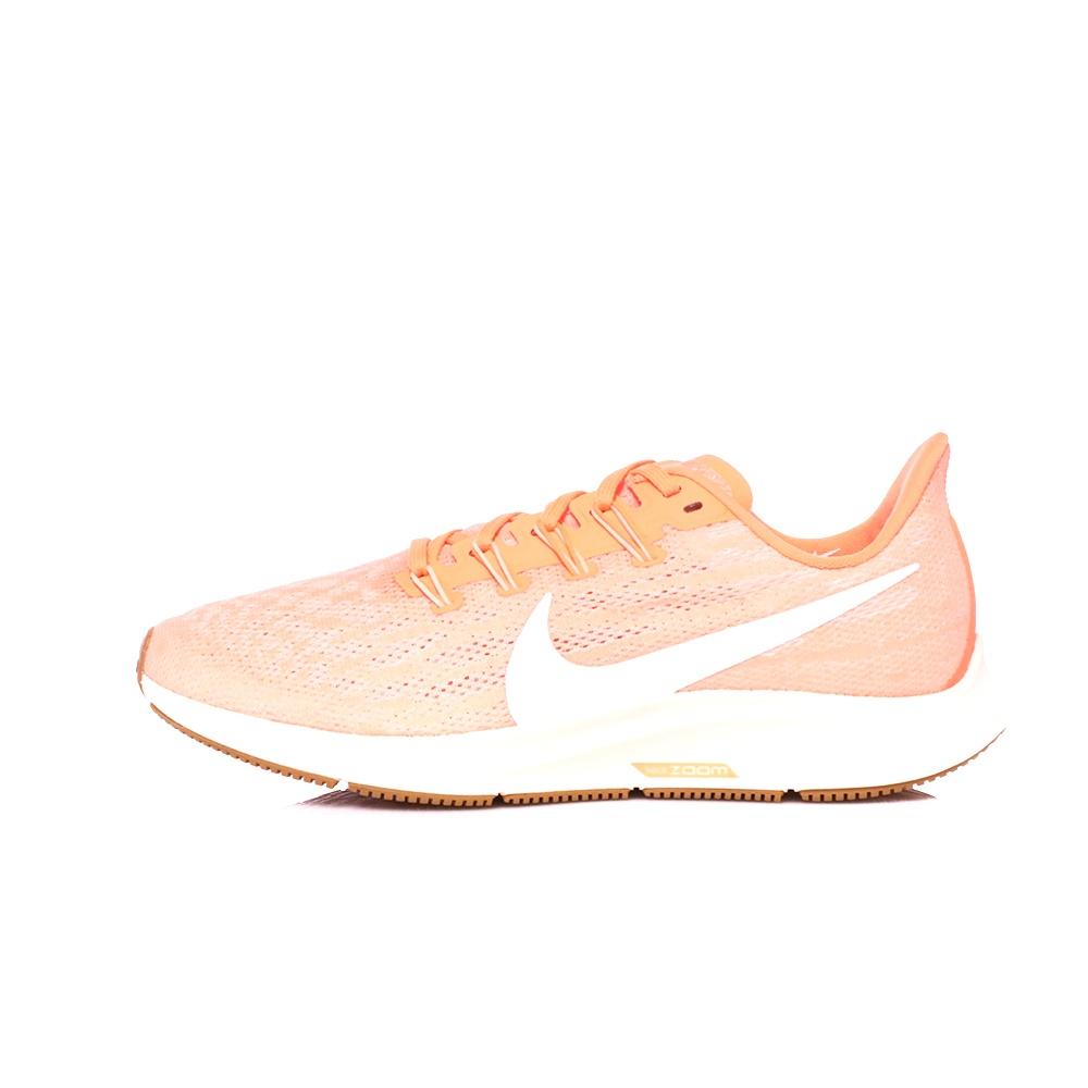 NIKE – Γυναικεία παπούτσια running NIKE AIR ZOOM PEGASUS 36 πορτοκαλί λευκά