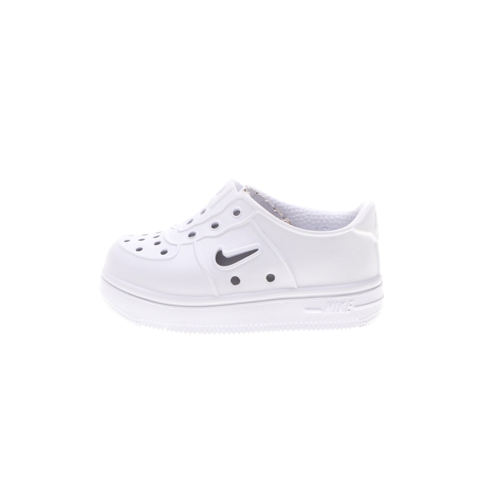 NIKE – Βρεφικά παπούτσια NIKE FOAM FORCE 1 (TD) λευκά