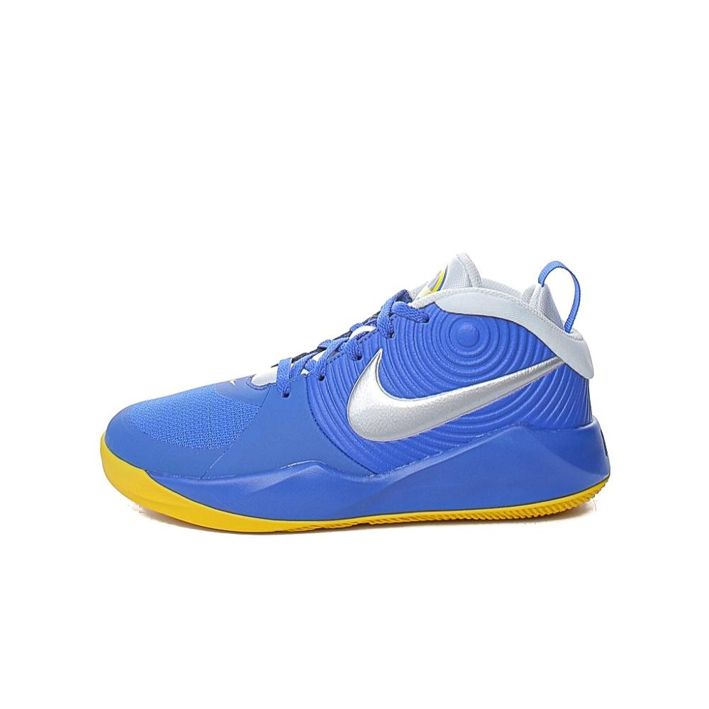 NIKE – Παιδικά παπούτσια basketball NIKE TEAM HUSTLE D 9 (GS) μπλε ασημί