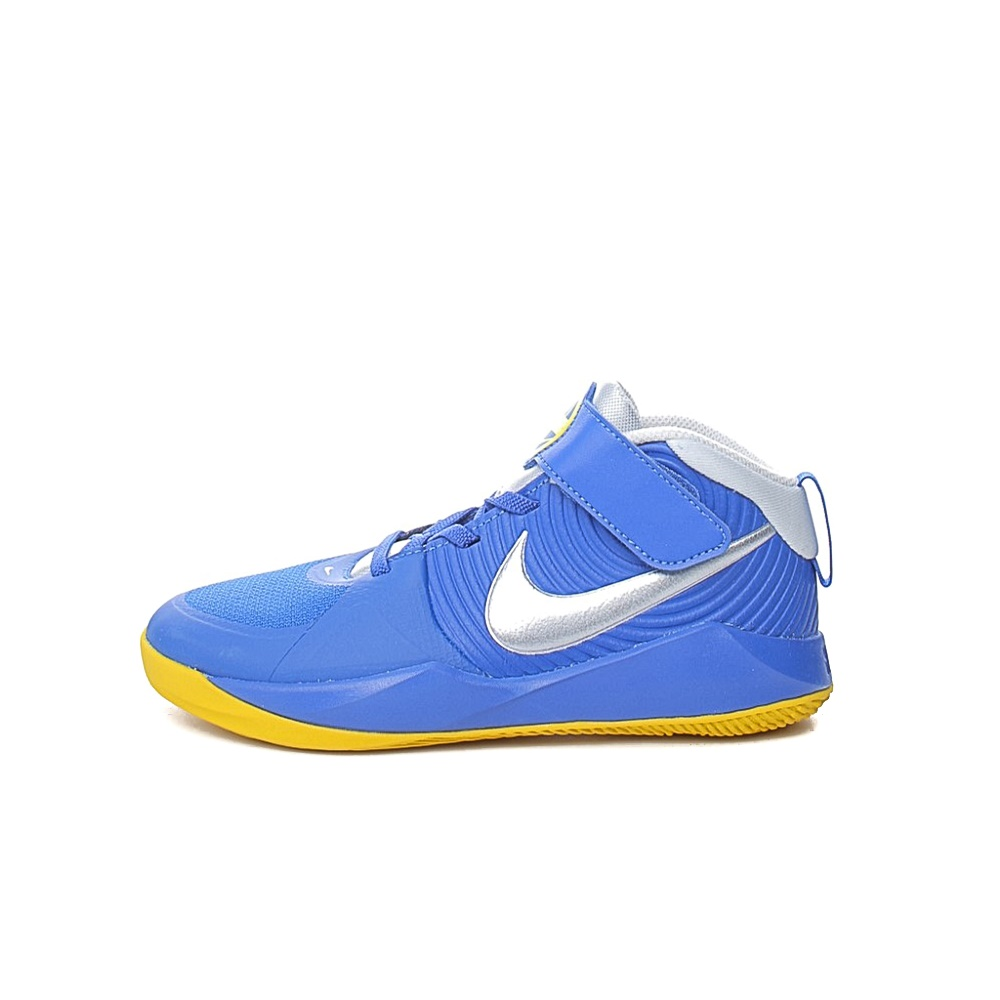 NIKE – Παιδικά παπούτσια NIKE TEAM HUSTLE D 9 (PS) μπλε ασημί