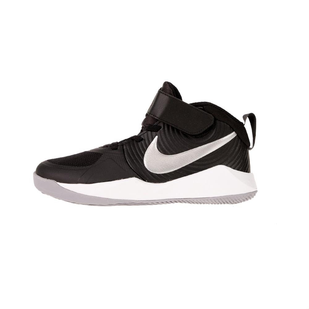 NIKE – Παιδικά παπούτσια μπασκετ NIKE TEAM HUSTLE D 9 (PS) μαύρα