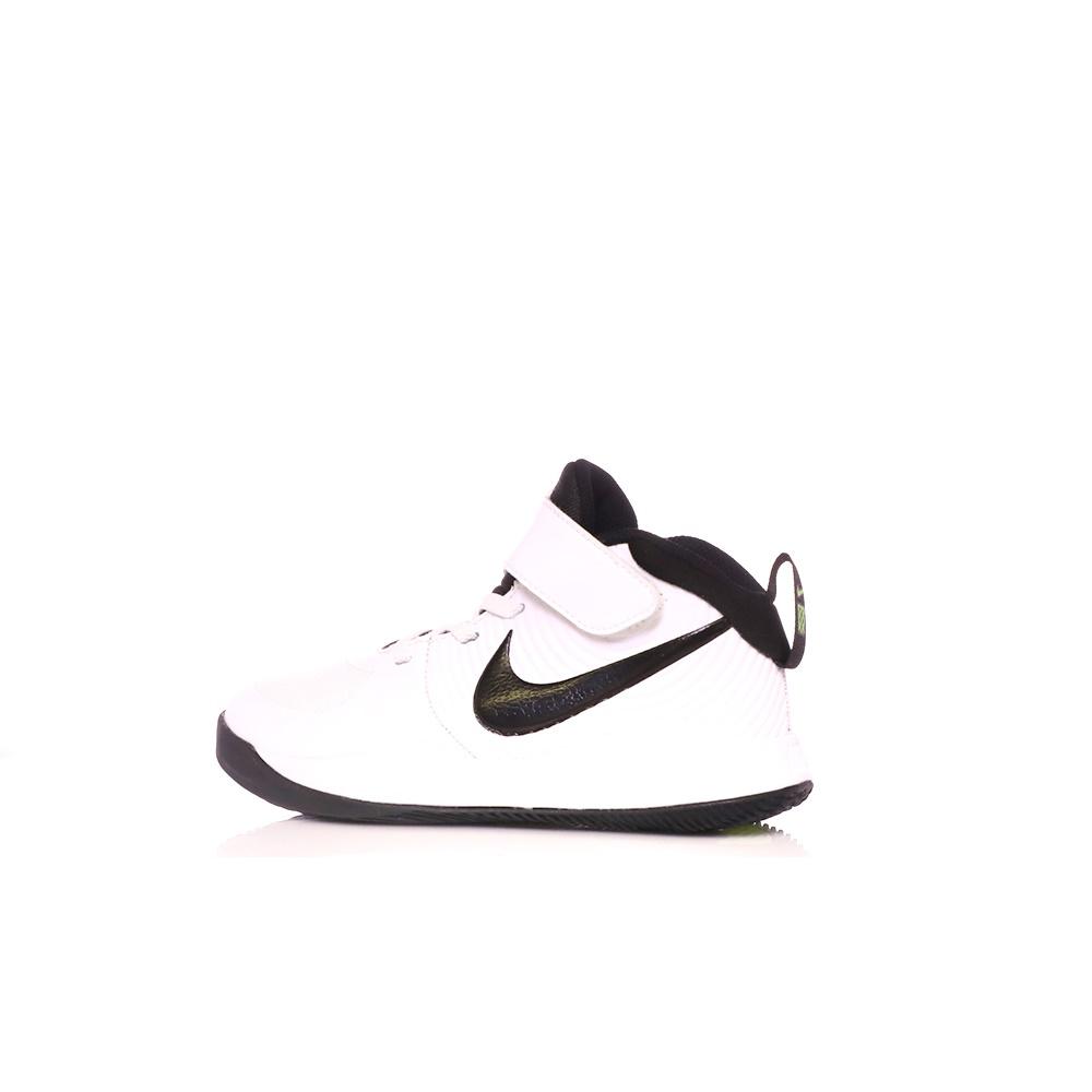 NIKE – Παιδικά παπούτσια μπασκετ NIKE TEAM HUSTLE D 9 (PS) λευκά