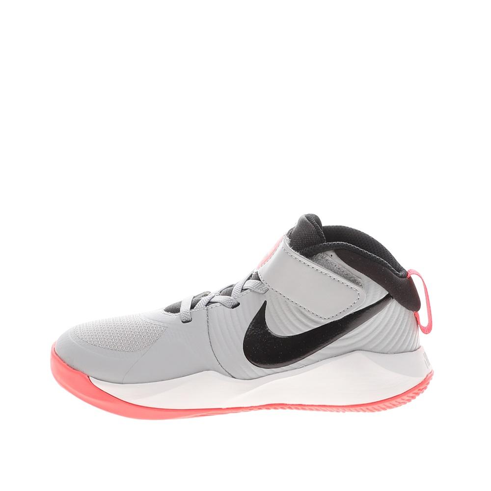 NIKE – Παιδικά παπούτσια μπάσκετ NIKE TEAM HUSTLE D 9 (PS) γκρί