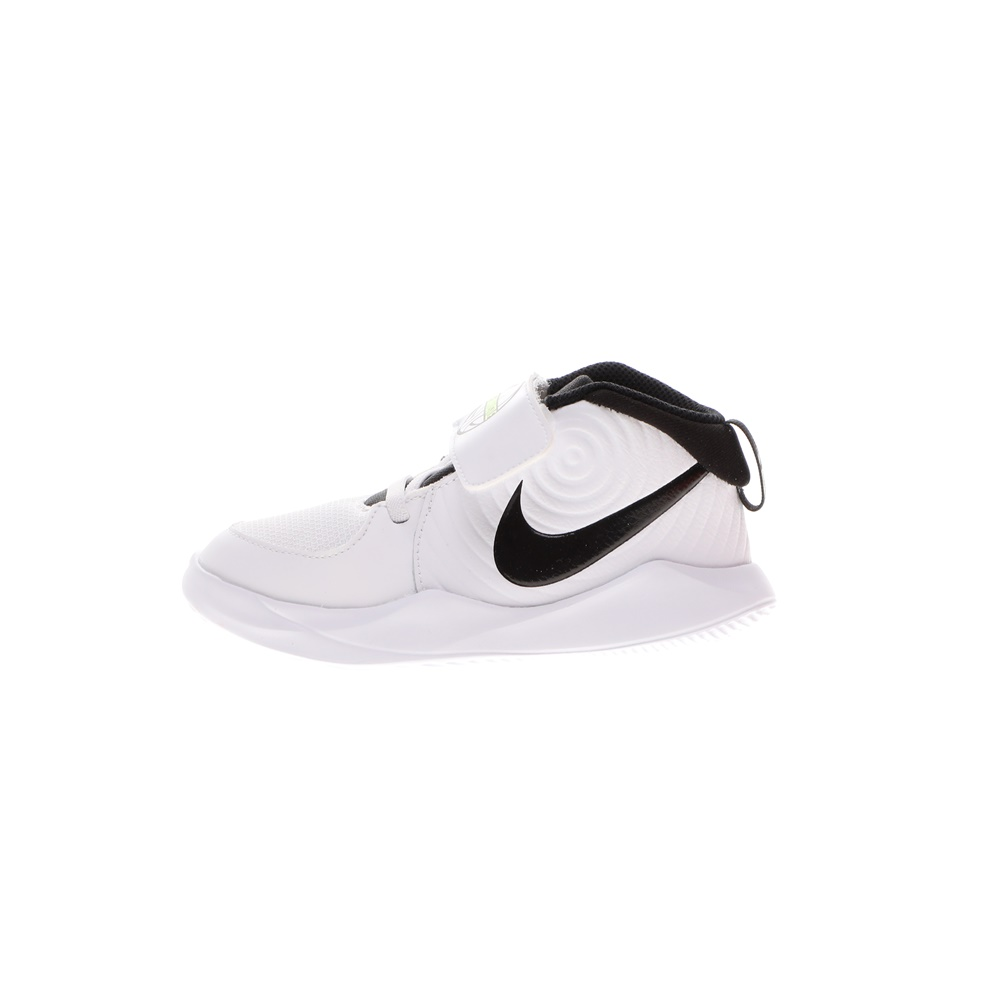 NIKE – Παιδικά παπούτσια running ΝΙΚΕ TEAM HUSTLE D 9 (TD) ασπρόμαυρα