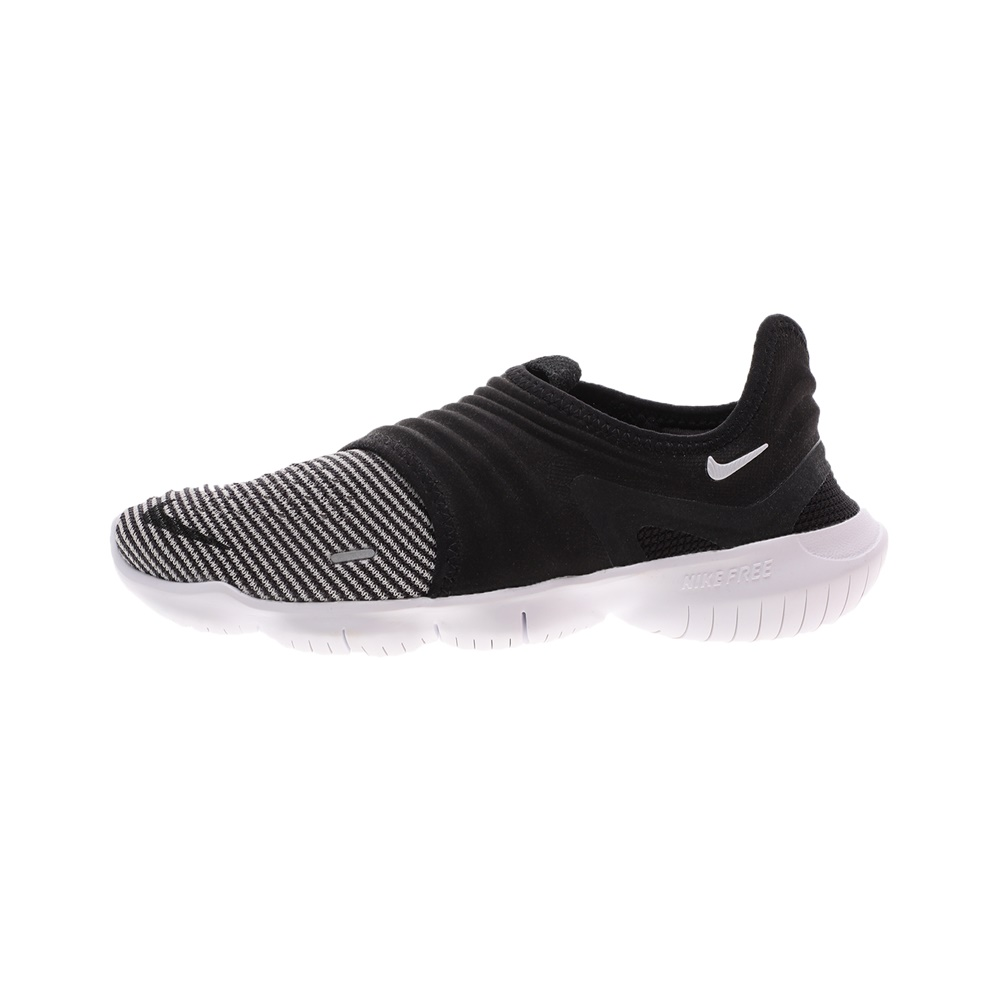 NIKE – Γυναικεία παπούτσια running NIKE FREE RN FLYKNIT 3 μαύρα λευκά