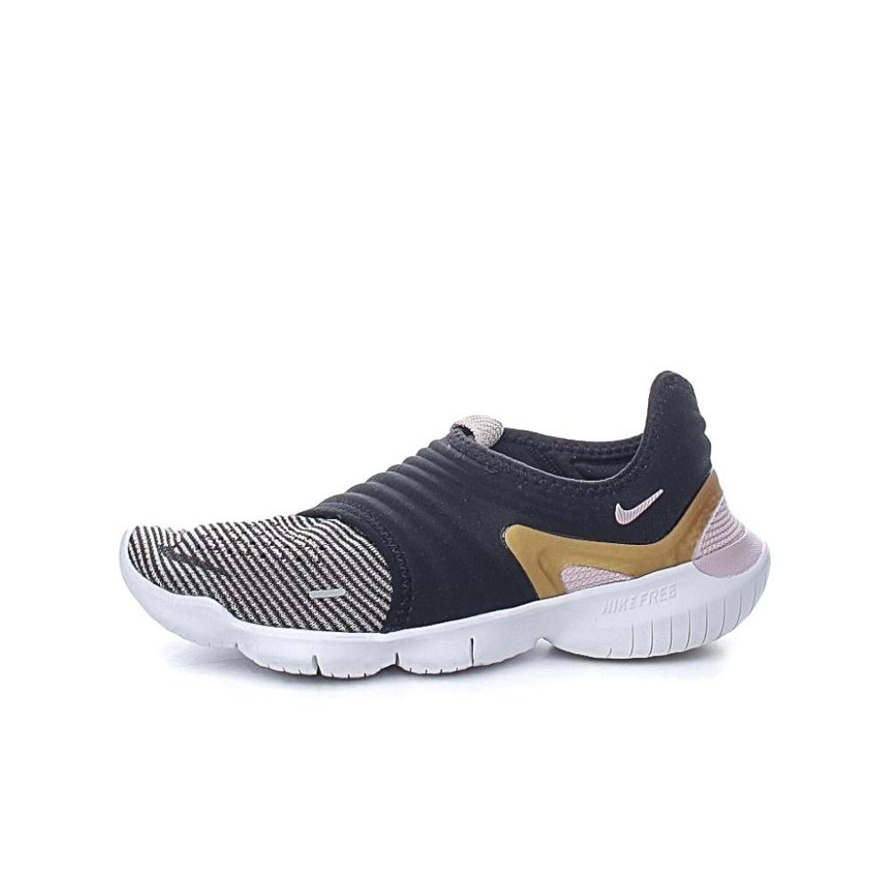 NIKE – Γυνακεία παπούτσια running NIKE FREE RN FLYKNIT 3.0 μαύρα