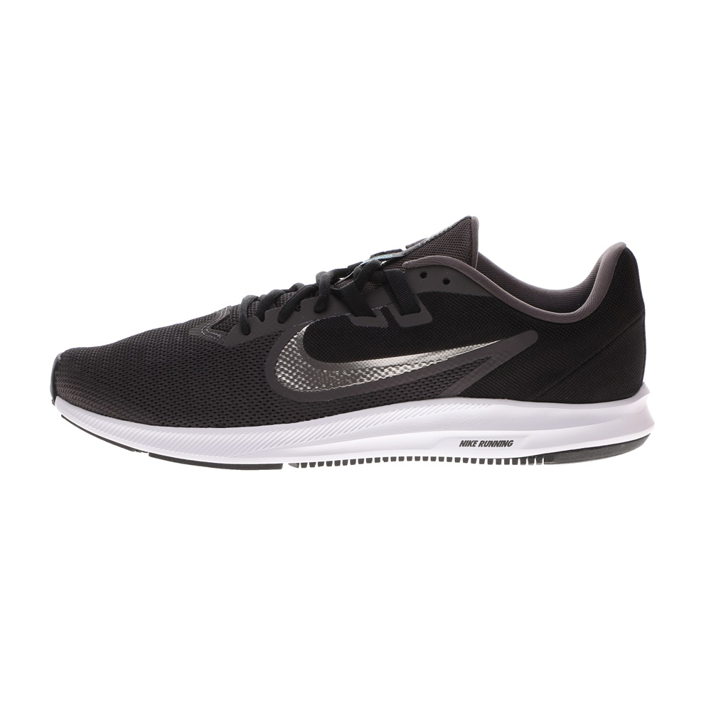 NIKE – Ανδρικά παπούτσια running NIKE DOWNSHIFTER 9 μαύρα ασημί