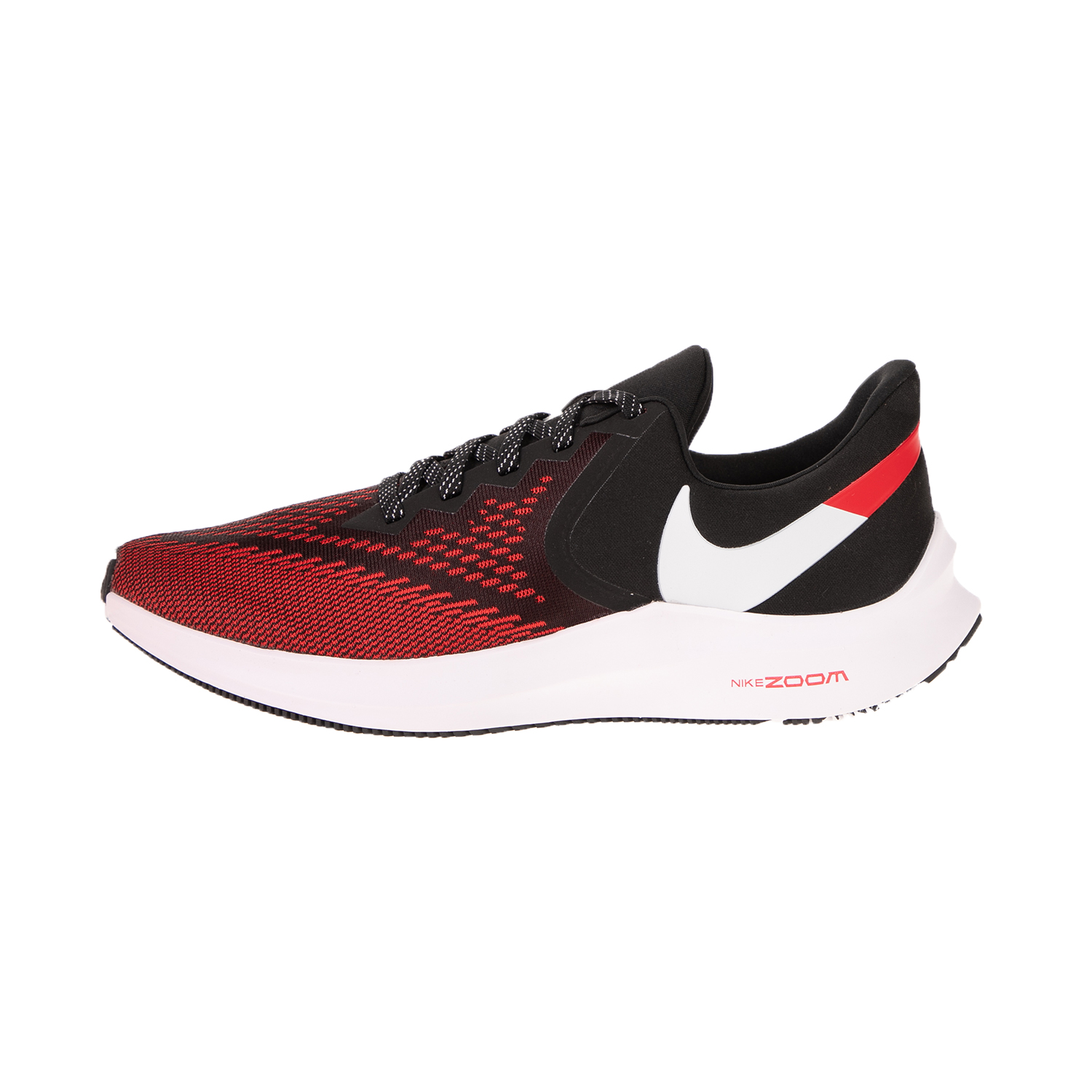 NIKE – Ανδρικά παπούτσια running NIKE ZOOM WINFLO 6 κόκκινα μαύρα