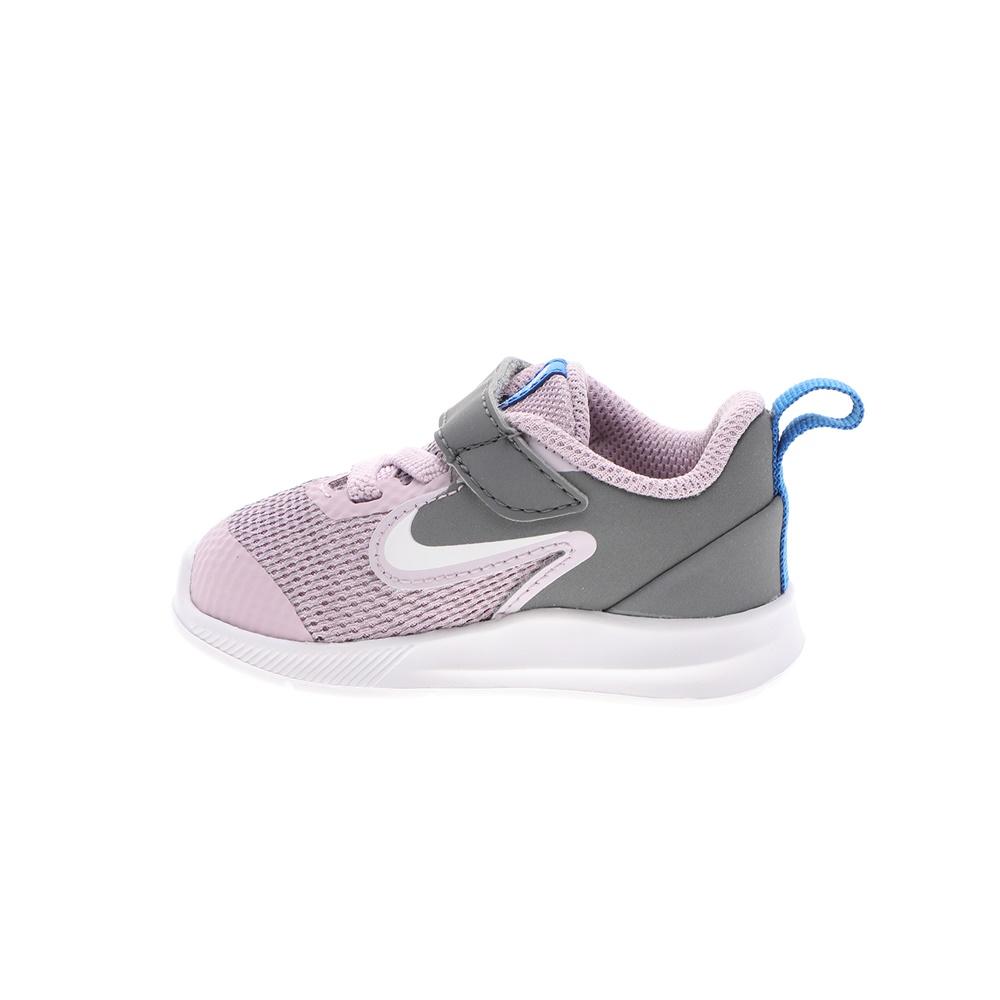 NIKE – Βρεφικά αθλητικά παπούτσια NIKE DOWNSHIFTER 9 (TDV) γκρι ροζ