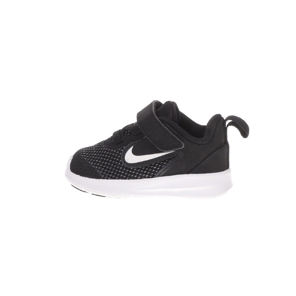 NIKE – Βρεφικά αθλητικά παπούτσια NIKE DOWNSHIFTER 9 (TDV) μαύρα