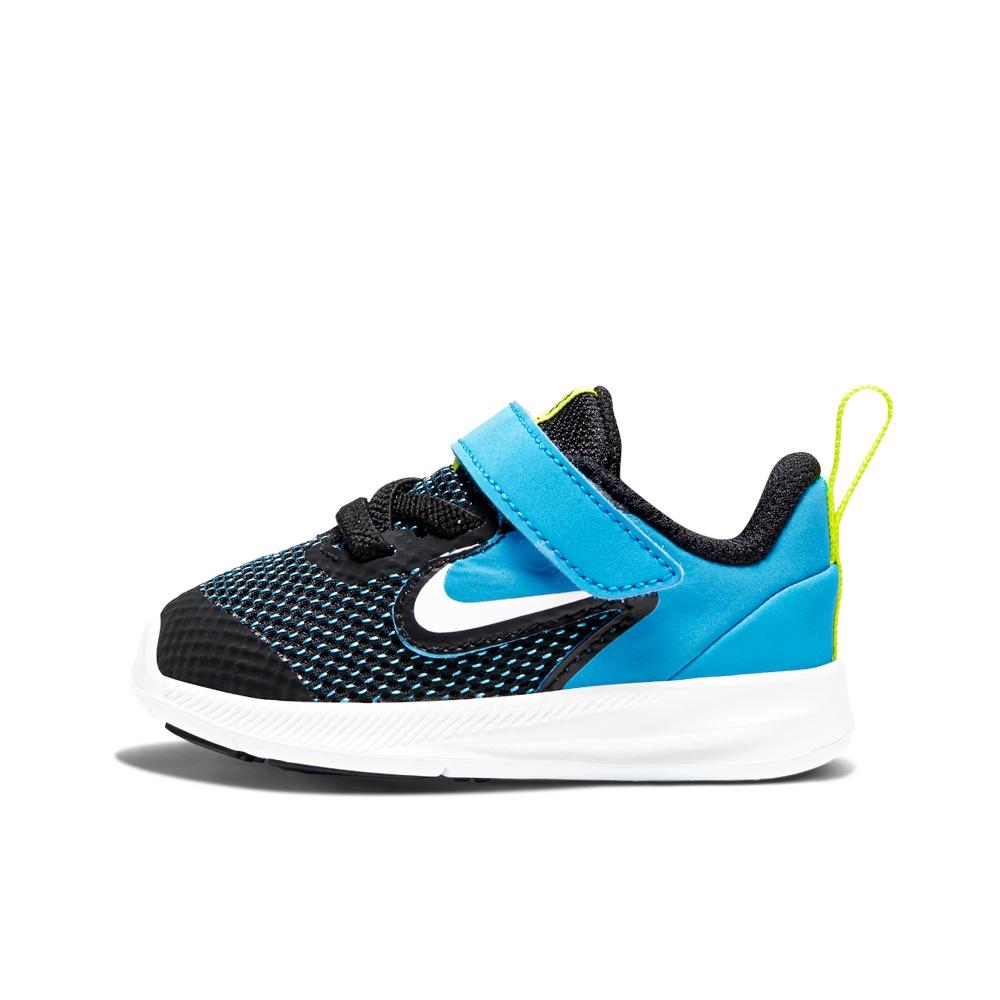 NIKE – Βρεφικά αθλητικά παπούτσια NIKE DOWNSHIFTER 9 (TDV) μπλε