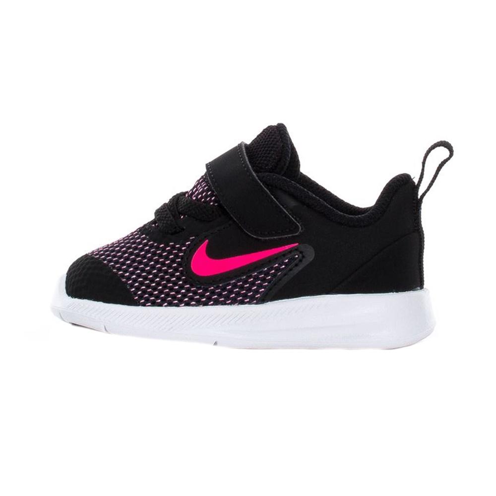 NIKE – Βρεφικά παπούτσια NIKE DOWNSHIFTER 9 (TDV) μαύρα ροζ