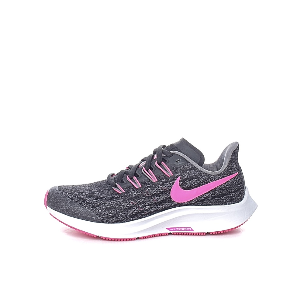 NIKE – Παιδικά running παπούτσια NIKE AIR ZOOM PEGASUS 36 (GS) μαύρα-ροζ