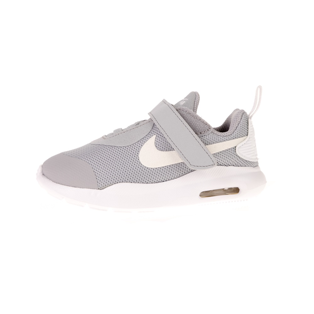 NIKE – Βρεφικά αθλητικά παπούτσια NIKE AIR MAX OKETO (TDV) γκρι λευκά