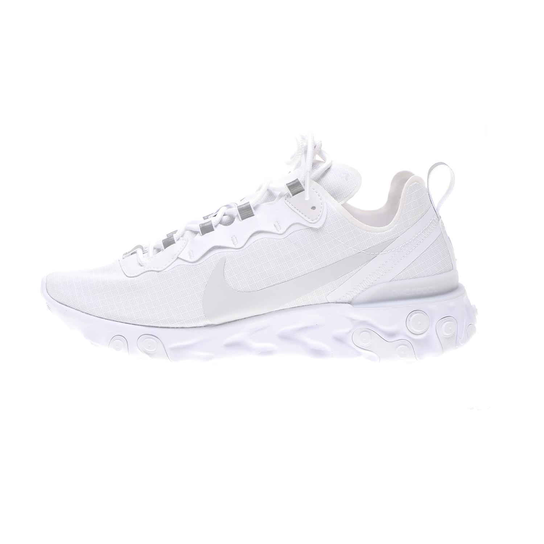 NIKE – Ανδρικά παπούτσια NIKE REACT ELEMENT 55 SE SU19 λευκά