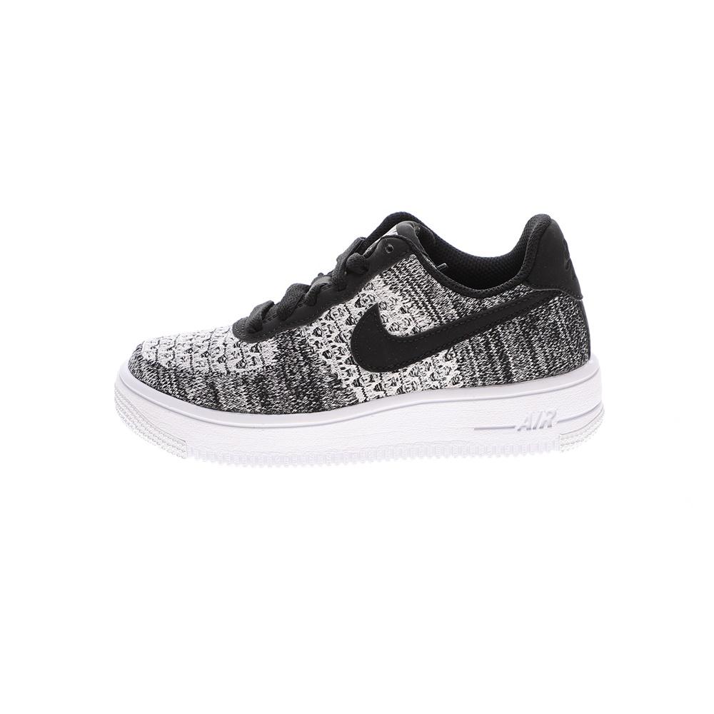 NIKE – Παιδικά μπασκετικά παπούτσια NIke AIR FORCE 1 FLYKNIT 2.0 (GS) μαύρο-γκρί