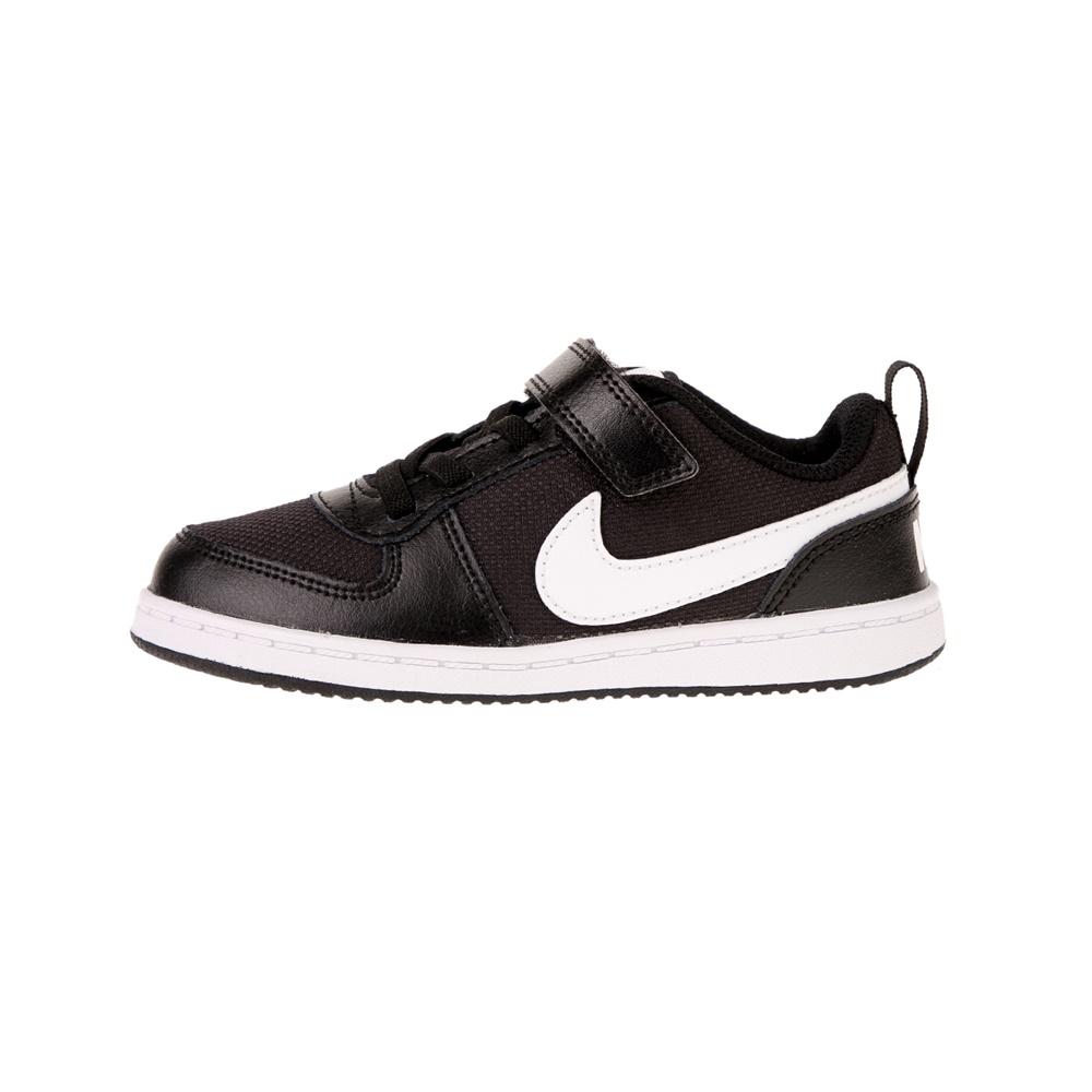 NIKE – Βρεφικά αθλητικά παπούτσια COURT BOROUGH LOW PE (TDV) μαύρα