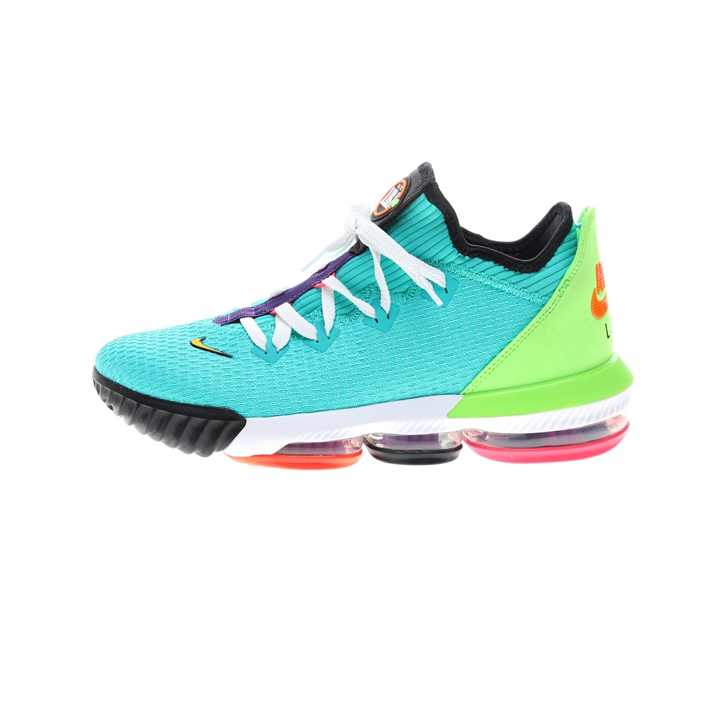 NIKE – Ανδρικά παπούτσια μπάσκετ LEBRON XVI LOW τιρκουάζ