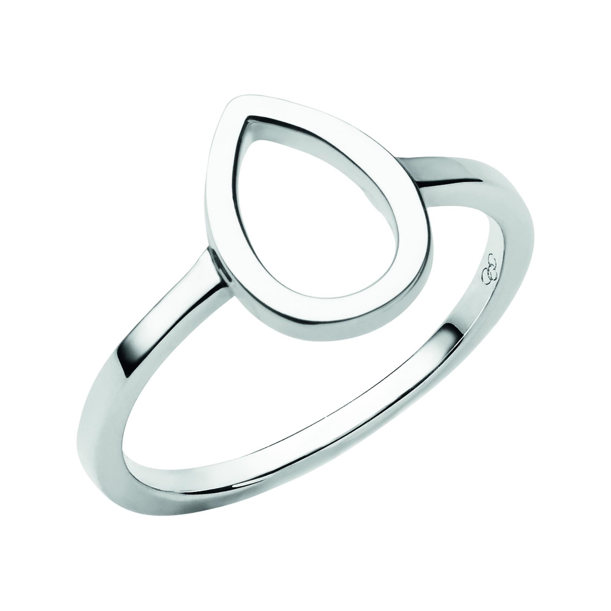 LINKS OF LONDON - Ασημένιο δαχτυλίδι Flare- μεγέθος 56 γυναικεία αξεσουάρ κοσμήματα δαχτυλίδια