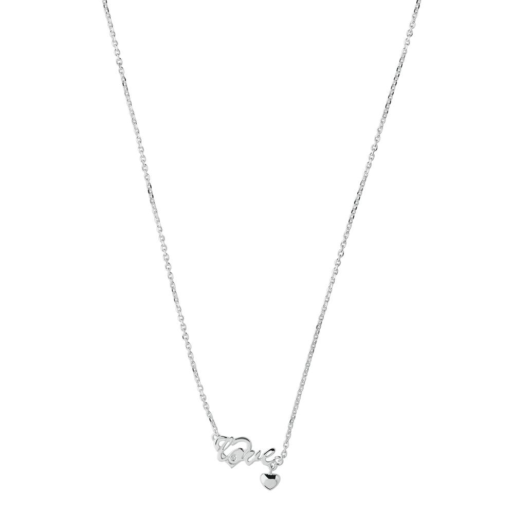 LINKS OF LONDON - Ασημένιο κολιέ Diamond Whispers γυναικεία αξεσουάρ κοσμήματα κολιέ