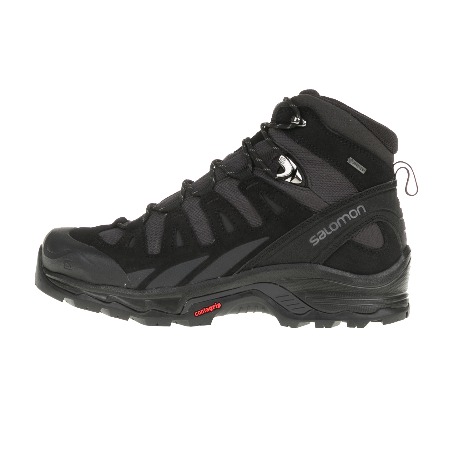 SALOMON - Ανδρικά μποτάκια BACKPACKING SHOES QUEST PRIME ανθρακί-μαύρα ανδρικά παπούτσια μπότες μποτάκια μποτάκια