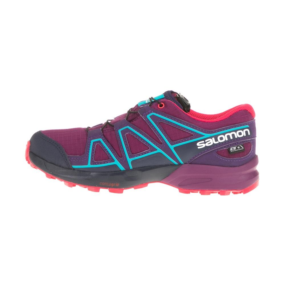 SALOMON – Παιδικά παπούτσια SPEEDCROSS CSWP μοβ